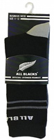 All Black Rugby Socks