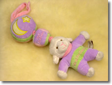 Musical Cot Rattle - Sheep