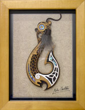 Fish Hook in picture frame