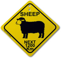 Sheep Street Sign