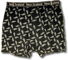 New Zealand Fern Boxer Shorts
