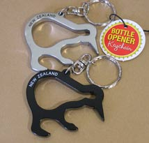 Kiwi Keyring - Bottle Opener