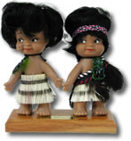 Mini Maori Collectable Dolls