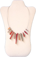 Red Icicle Necklace