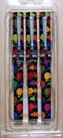 Patterned Kiwi Pens x 3 pack