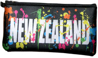 New Zealand Paint splatter Pencil Case