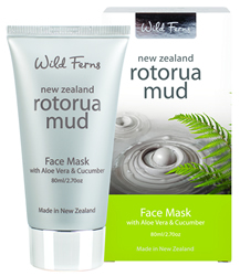 Rotorua Face Mask with Aloe Vera & Cucumber