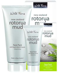 Rotorua Mud Face Pack with  Jasmine & Orange Blossom