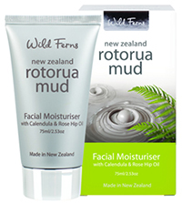 Rotorua Mud Facial Moisturiser with Caledula & Rose Hip Oil