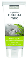 Rotorua Mud Facial Scrub with Grapefuit & Calendula