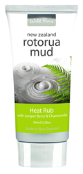 Rotorua Mud Heat Rub with Juniper Berry & Chamomile
