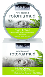 Rotorua Mud Night Creme with Lavender & Passionflower