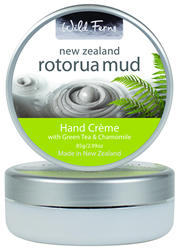 Rotorua Mud Hand Creme with Green Tea & Chamomile