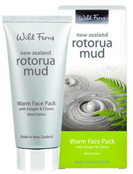 Rotorua Mud Warm Face Pack with Ginger & Cloves