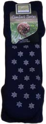 Navy Blue Bed Socks