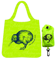 Bag Foldable Kiwi Green