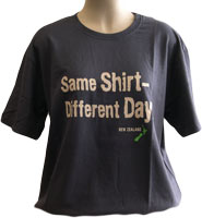 Tshirt with the text - Same Shirt Different Day