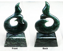 Greenstone Whales Tail