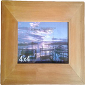 Wooden Rimu Photo Frame 4 x 4