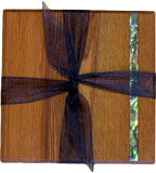 Heritage Rimu Coasters Twin Pack
