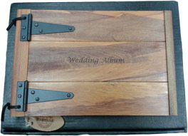 Hand Crafted Wedding Photo Album